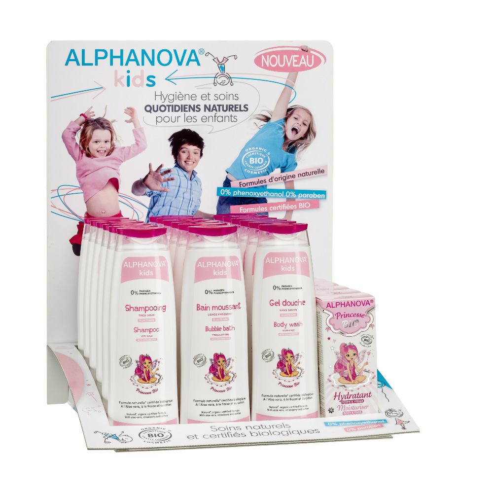 distributeur Alphanova KIDS display