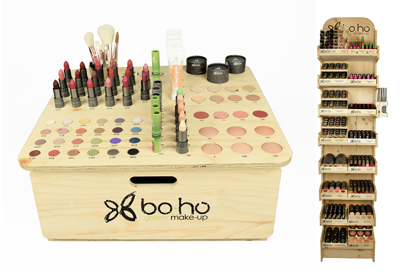 Boho-make-up-display