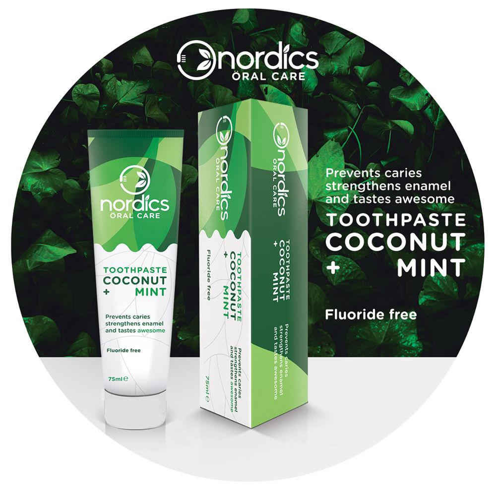 Nordics 100% natuurlijke tandpasta