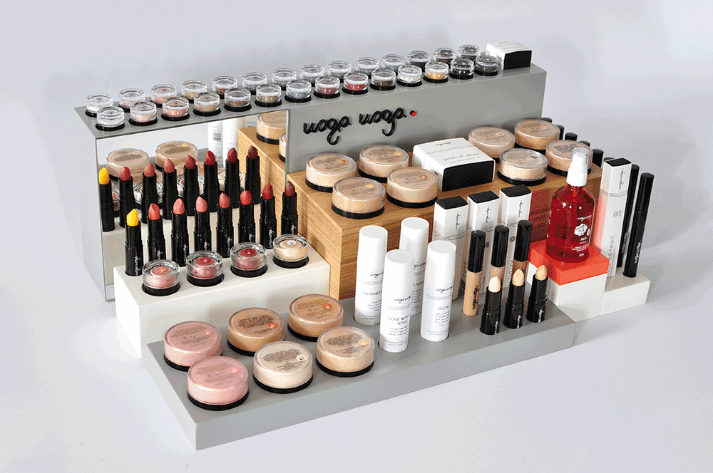 Uoga-Uoga-minerale-make-up display