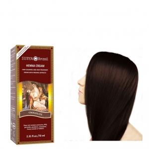 chocolate cream haar