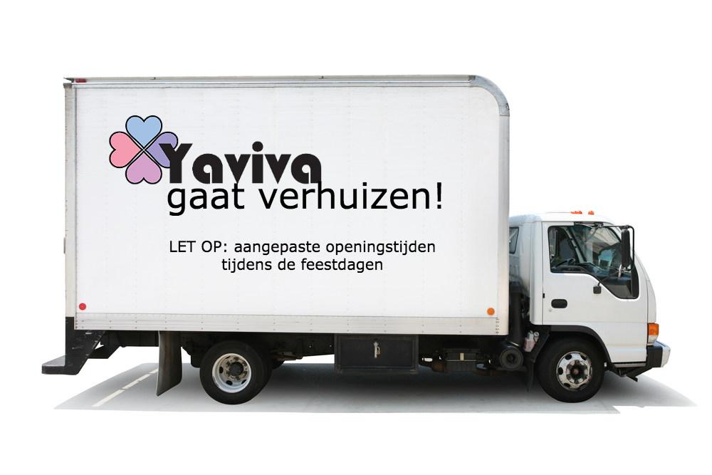 Yaviva gaat verhuizen