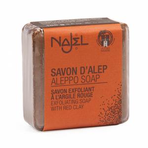 Najel-olijf-zeep-exfoliater-rode-klei