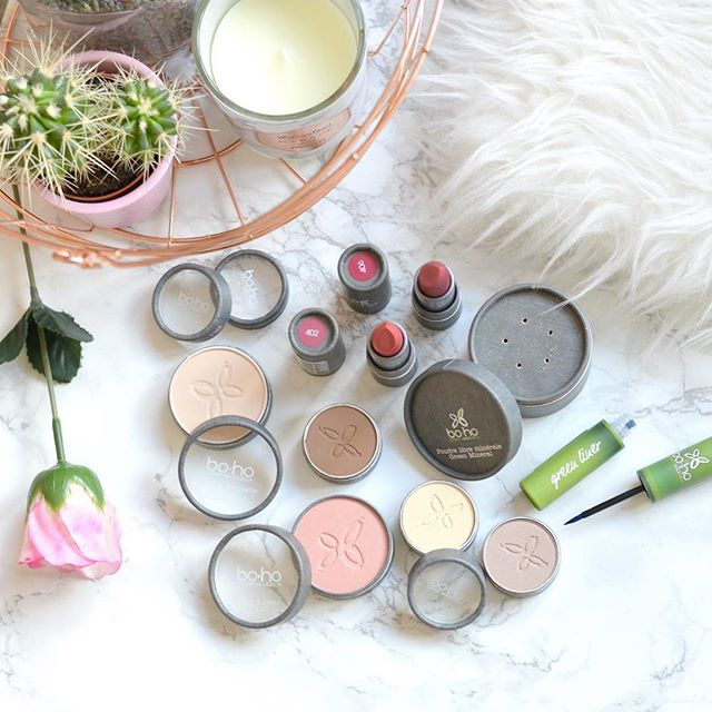 Groothandel distributeur Boho green make-up