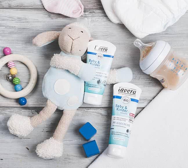 groothandel distributeur lavera natuurlijke verzorging baby en kind