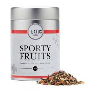 Teatox sporty fruits voorkant