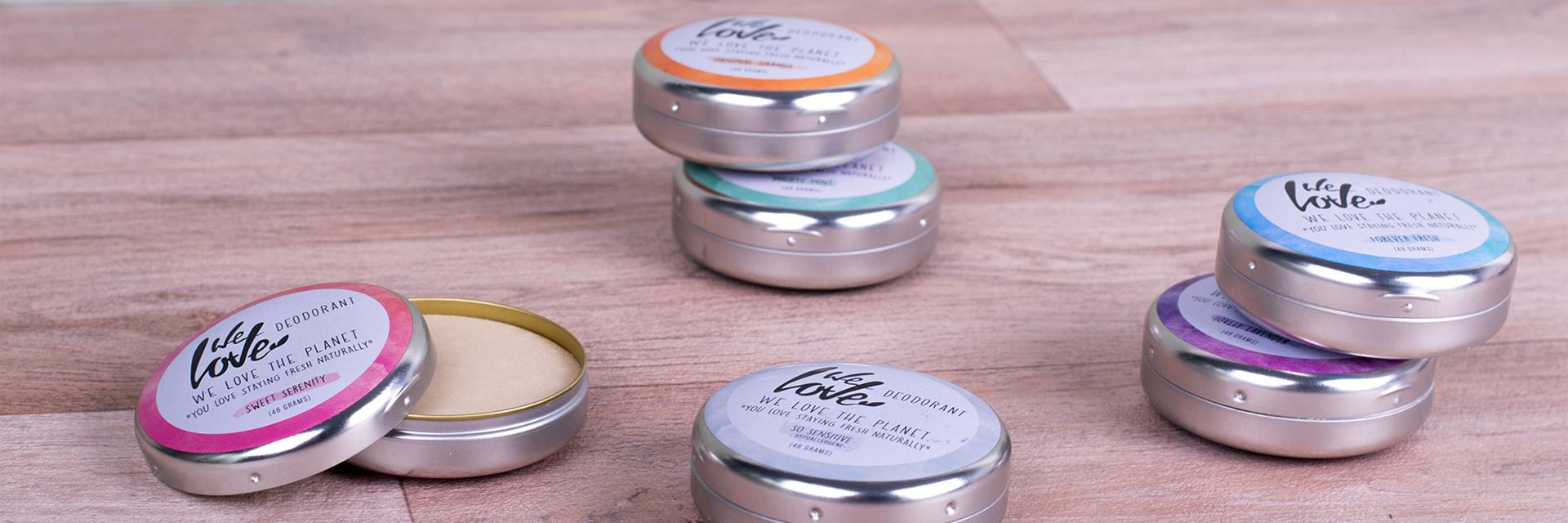 We Love The Planet natuurlijke deodorant groothandel