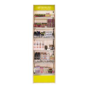 Benecos natuurlijke cosmetica display 995