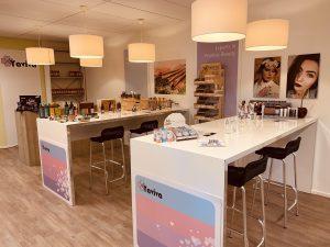 Showroom biologische en natuurlijke cosmetica