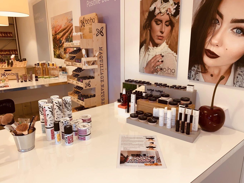 Showroom natuurlijke en biologische cosmetica