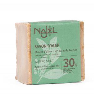Aleppo 30% laurier olijf zeep