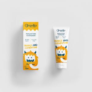 Nordics kinder tandpasta 2