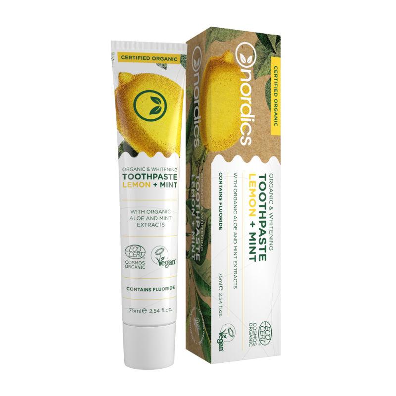 Distributeur groothandel Nordics tandpasta met fluoride