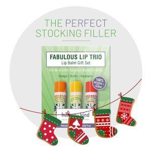Human + Kind kerstpakket lip balm stocking