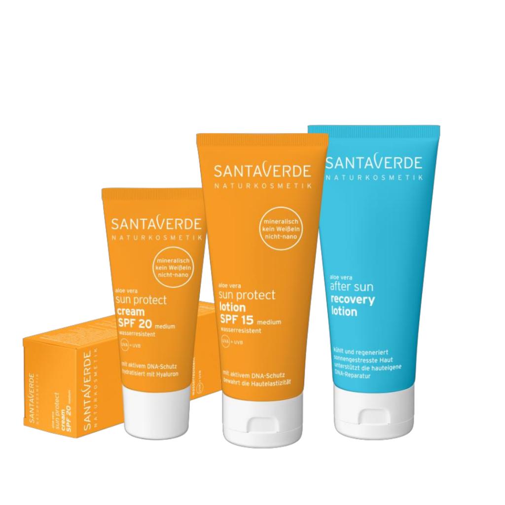 Groothandel Biologische huidverbetering van Santaverde met aloe vera