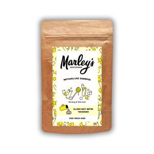 8719326657578 Shampoo vlokken - Geel, honing & wierook