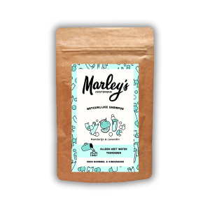 8719326657592 Shampoo vlokken – Blauw, Mandarijn & Lavandin