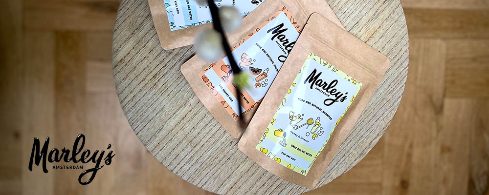 Wholesaler distributor shampoo bar flakes without water Marley's Amsterdam