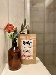 distrivuteur natuurlijke shampoo zonder plastic